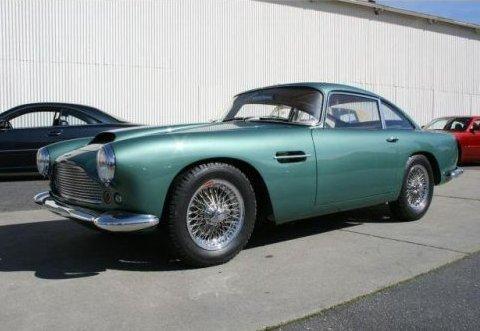 Aston Martin DB4 Coupe