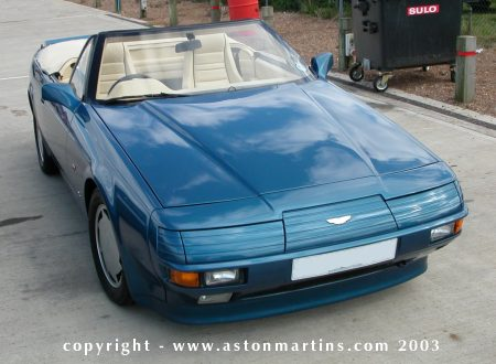 Aston Martin V8 Zagato Volante