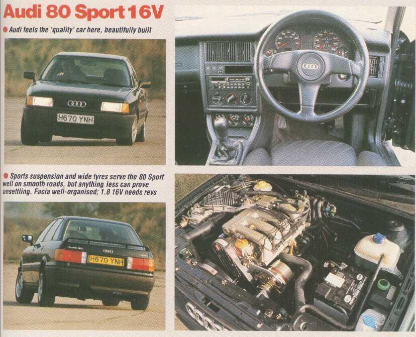 Audi 80 2.0 E 16V