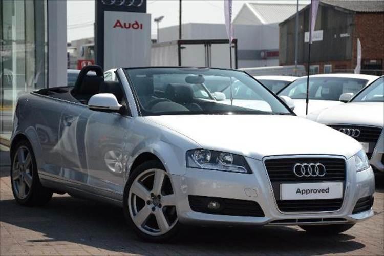Audi A3 1.8T FSi Cabriolet S-Tronic