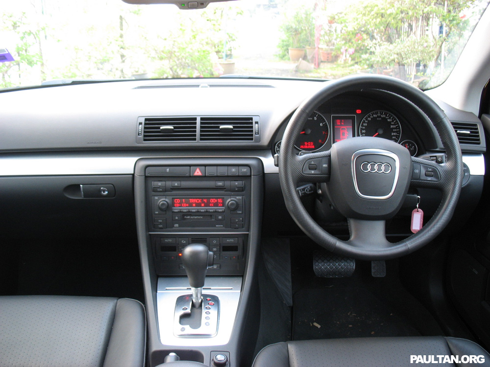 Audi A4 2.0 T FSI Quattro Tiptronic