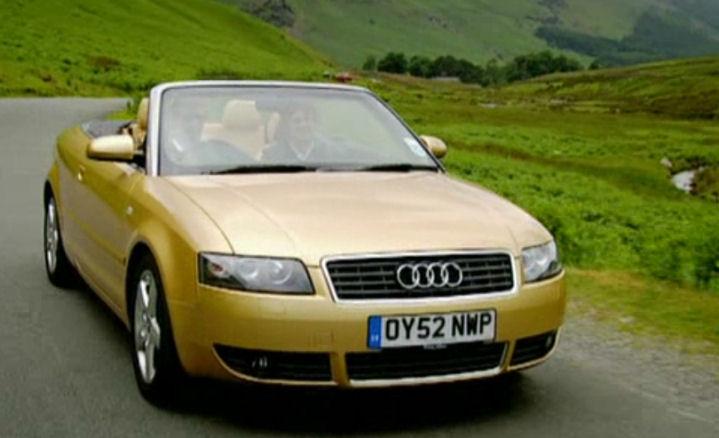 Audi A4 2.5 TDi Cabriolet