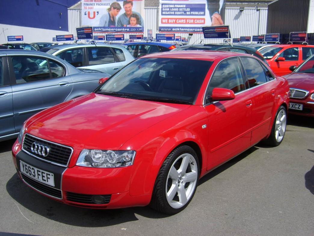 Audi A4 2.5 TDI quattro AT