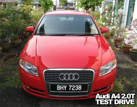 Audi A4 Avant 2.0T FSi Multitronic