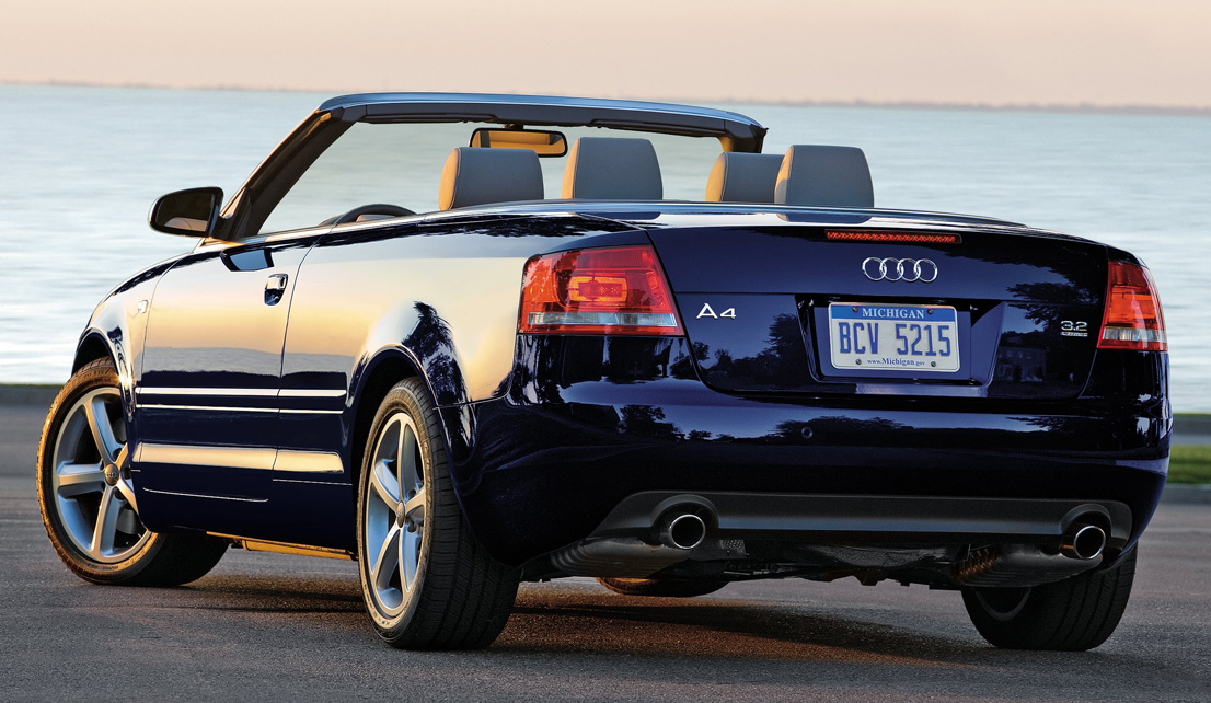 view of audi a4 cabrio 2 4 v6 photos video features and. Black Bedroom Furniture Sets. Home Design Ideas