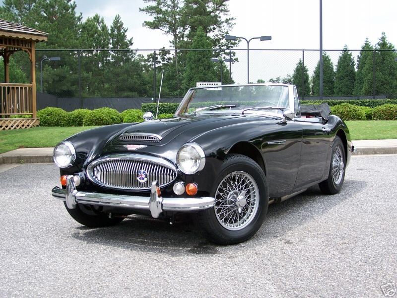 Austin-Healey Tickford
