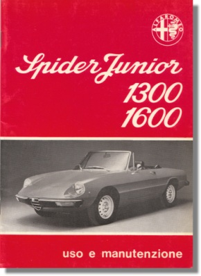 Alfa Romeo Spider 1300 Junior