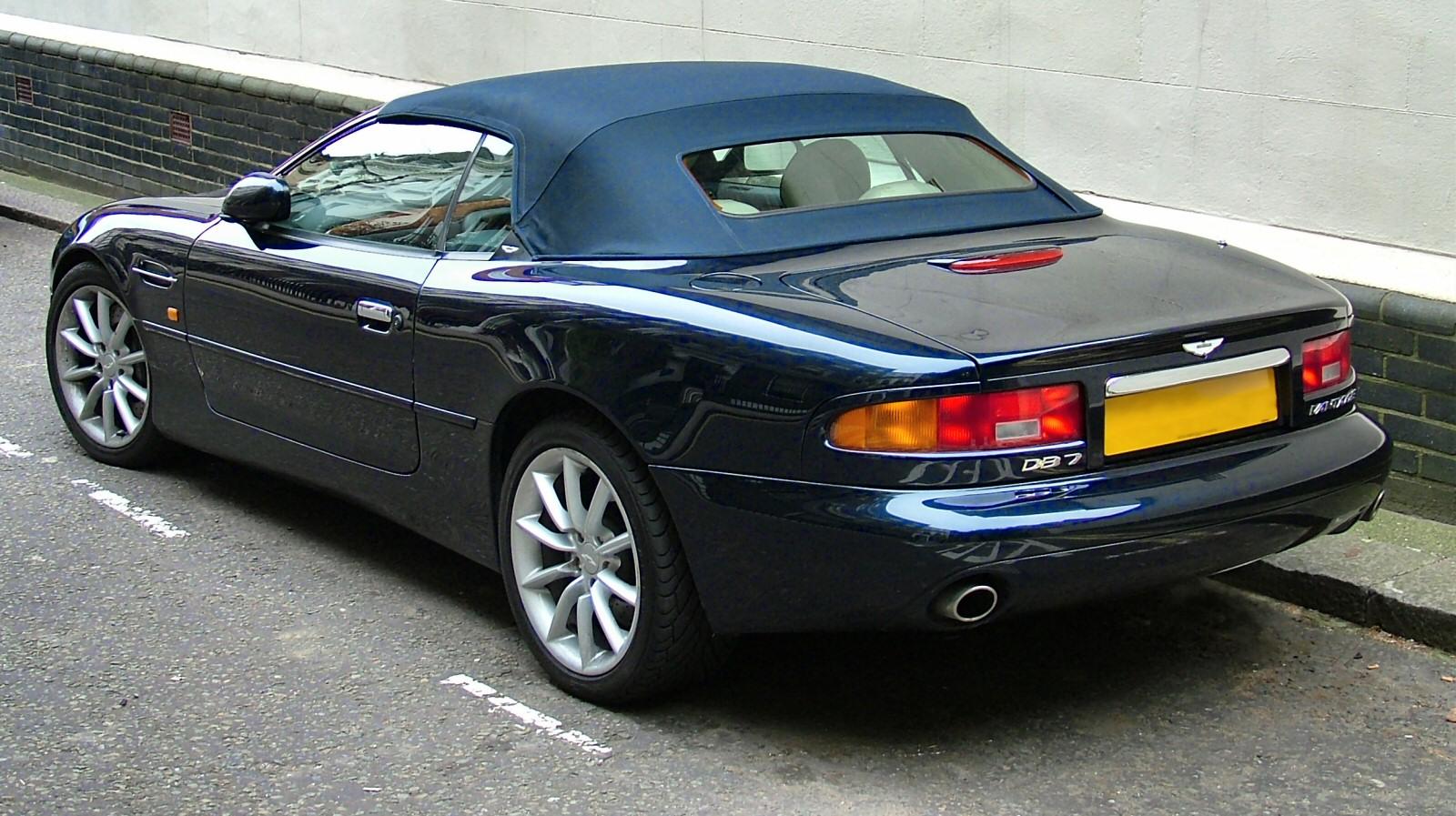 Aston Martin DB7 Vanquish