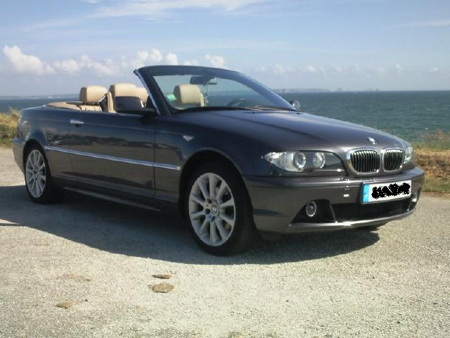 View Of Bmw 320 Cd Cabriolet Photos Video Features And Tuning