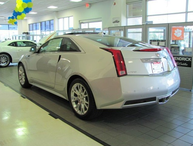 Cadillac CTS Coupe Performance AWD