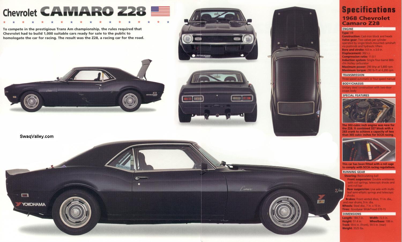 Chevrolet Camaro Z 28 SS
