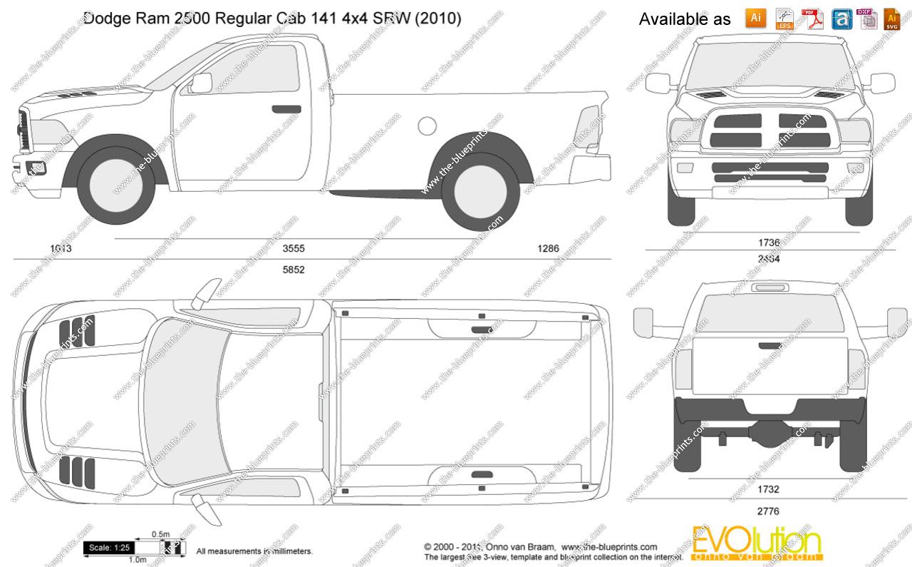 Dodge Ram 2500 Regular Cab 4x4