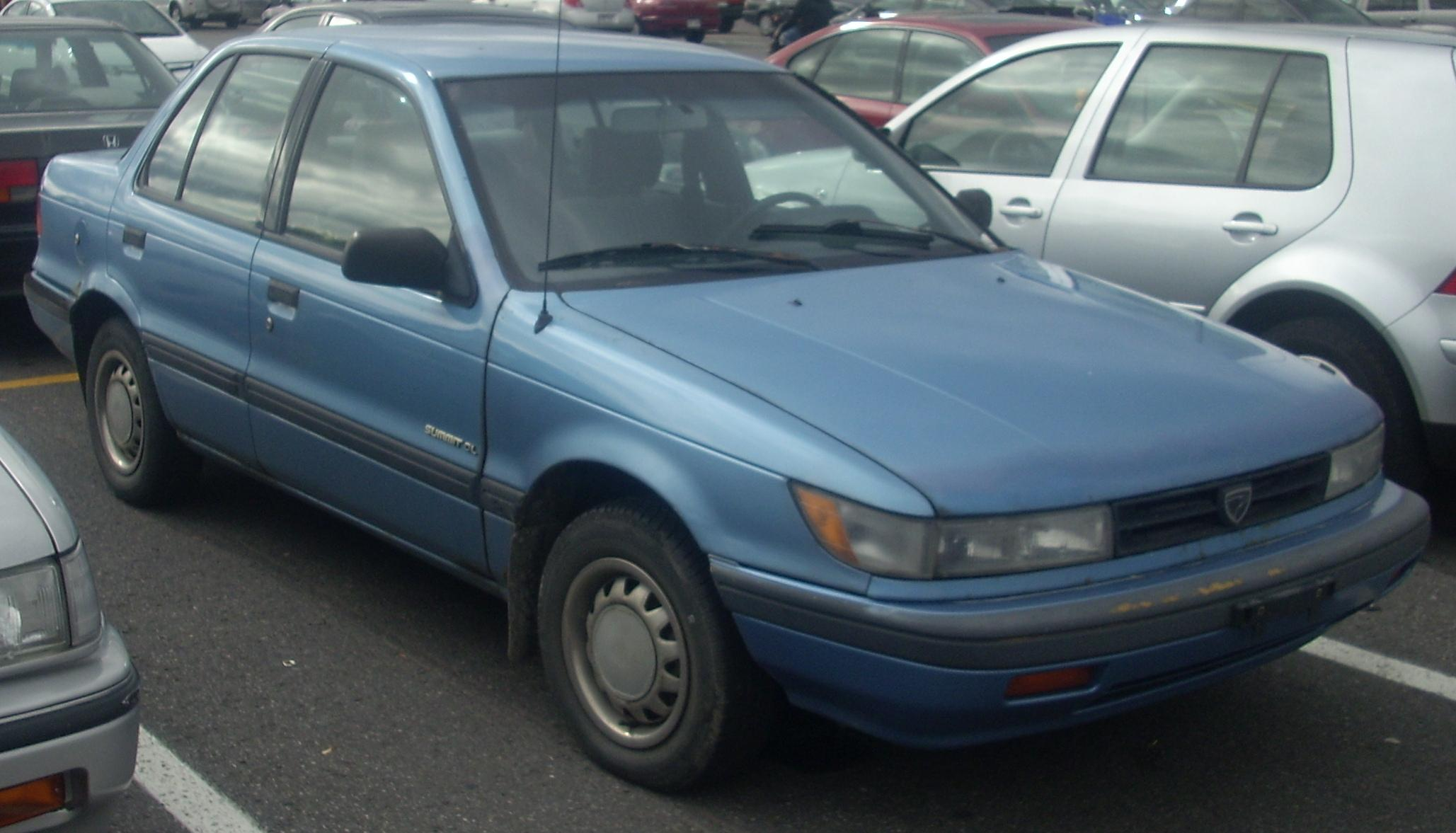 Eagle Summit Sedan