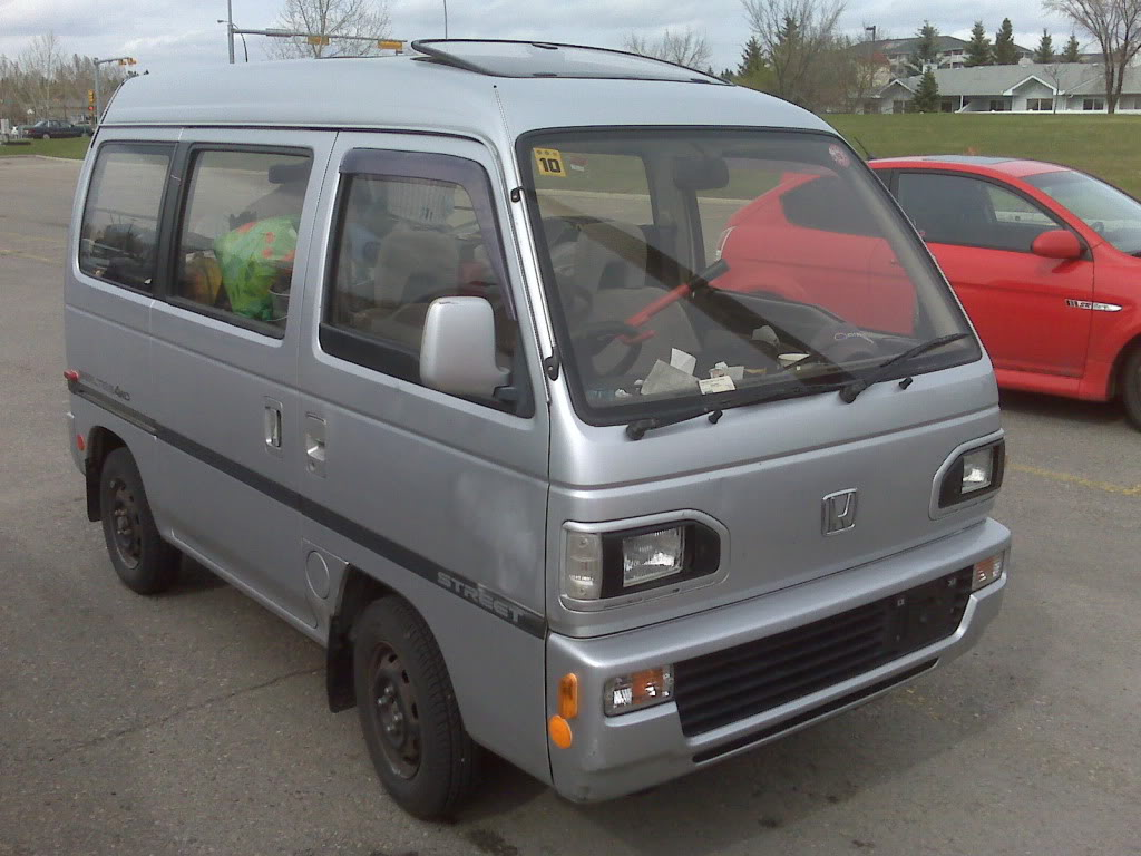 View Of Honda Acty Van. Photos, Video, Features And Tuning