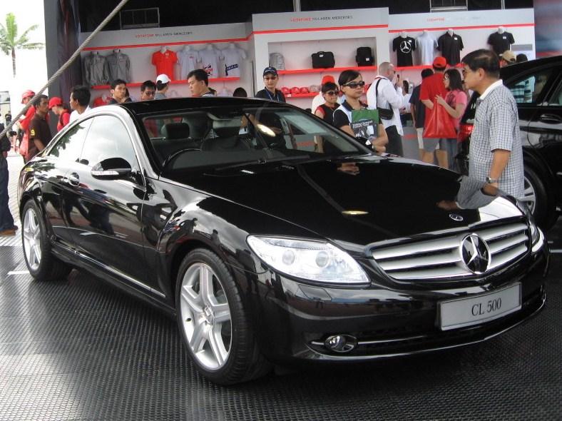 Mercedes-Benz CL 500 AT