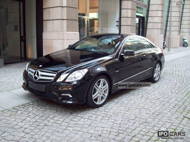 Mercedes-Benz E 350 CGI BlueEfficency Coupe
