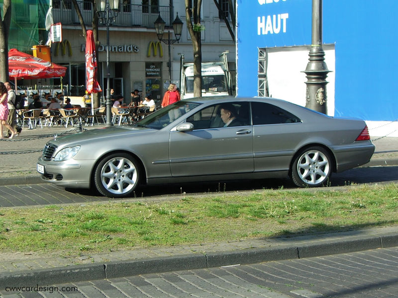 Mercedes-Benz S Coupe 500 AT