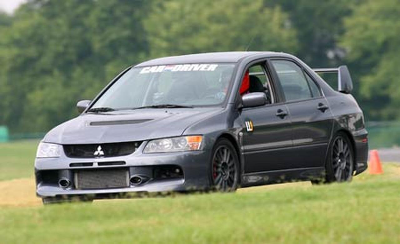 View of Mitsubishi Lancer Evolution MR Edition. Photos, video, features and tuning of vehicles