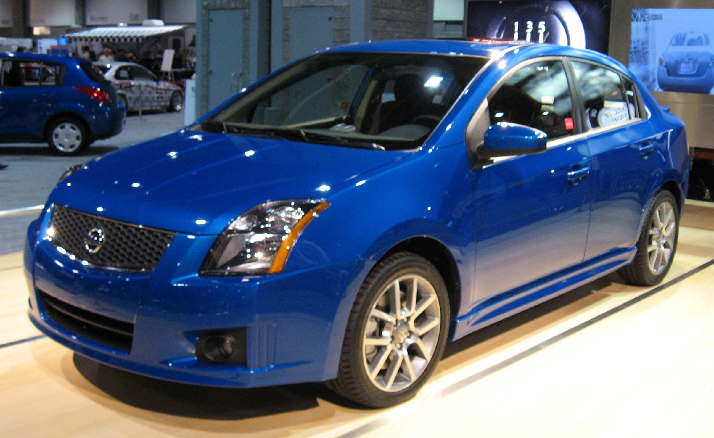 View of Nissan Sentra. Photos, video, features and tuning ...