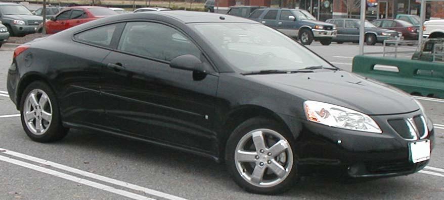 Pontiac G6 GT Coupe