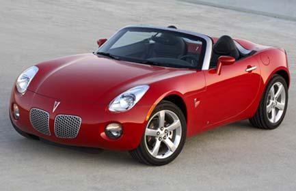 Pontiac Solstice GXP Convertible