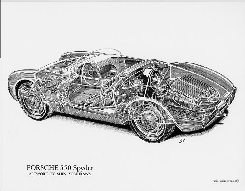 Porsche 550 A