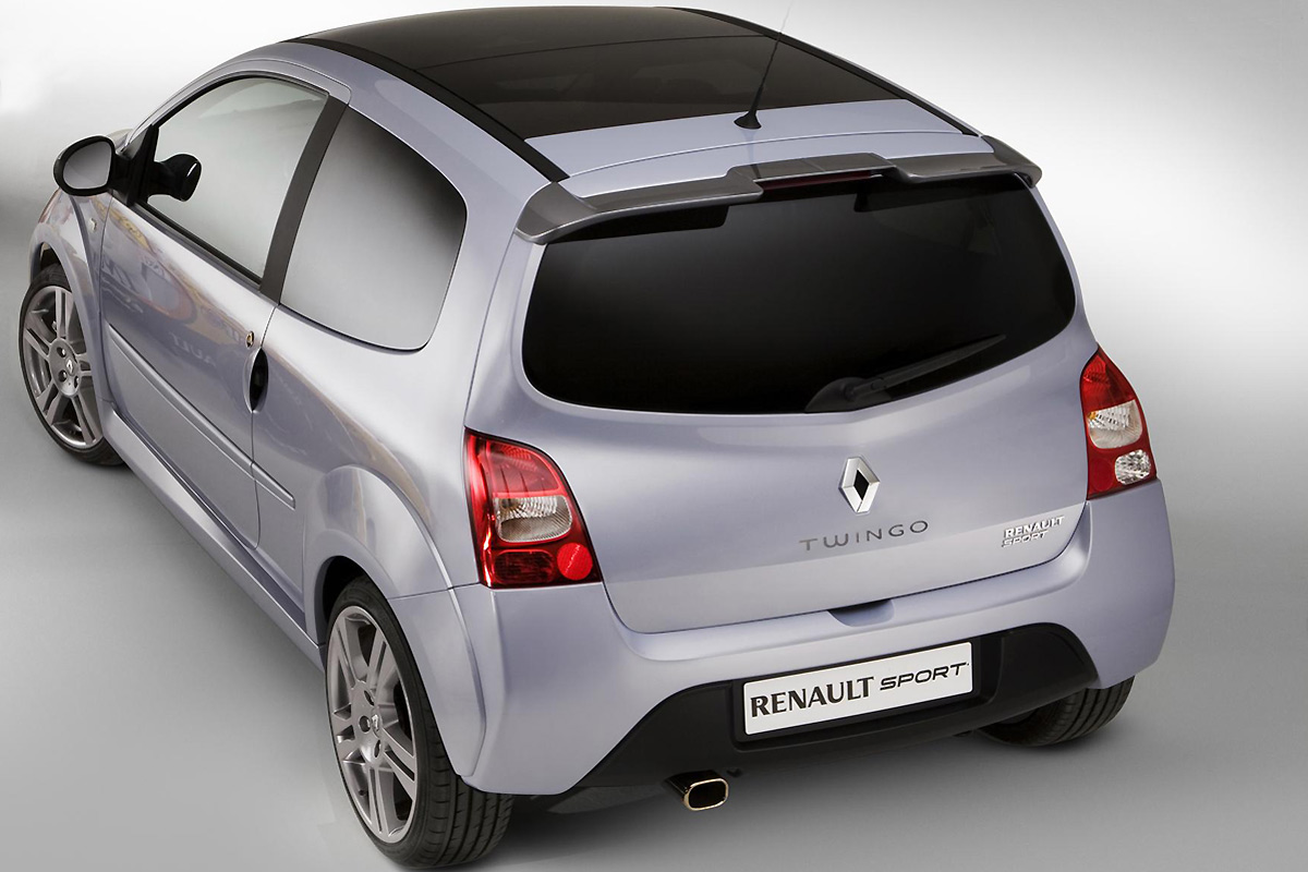 View of Renault Twingo RS  Photos, video, features and