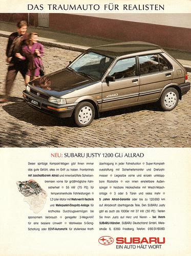Subaru Justy 1200