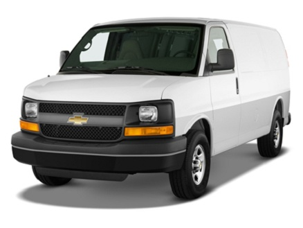 Chevrolet Express Passenger Van 2500 LS Regular