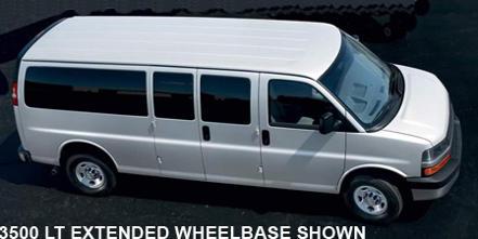 Chevrolet Express Passenger Van 3500 LS Diesel