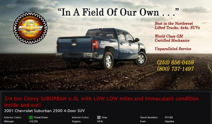 Chevrolet Suburban 6.0