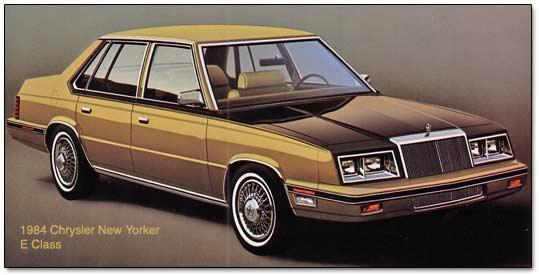 Chrysler E 2.2 Class