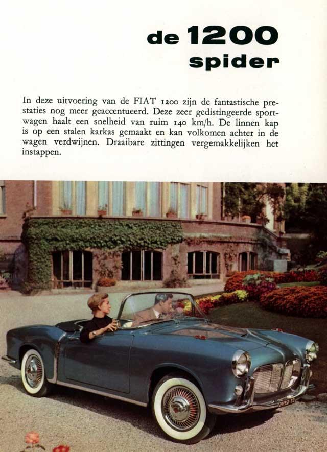 Fiat 1100 TV Spider