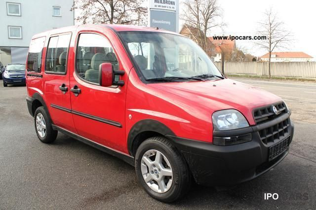Fiat Doblo 1.6 Trofeo