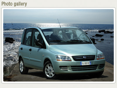 Fiat Multipla 1.6 Natural Power
