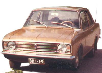 Ford Cortina 2.0 Estate