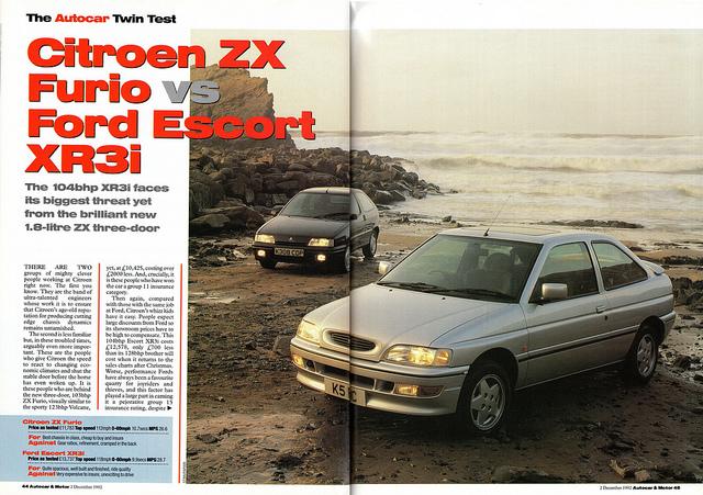 Ford Escort 1.8 i 16V XR3i