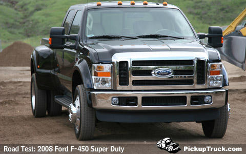 Ford F-450 SD Crew Cab