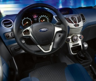 View of Ford Fiesta 1.6 Ti-VCT. Photos, video, features ...