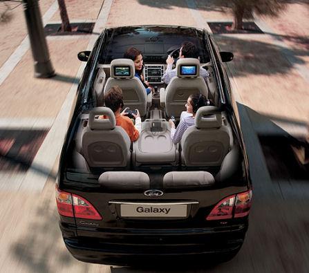 Ford Galaxy V6 Ghia