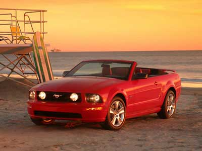 Ford Mustang Deluxe Convertible