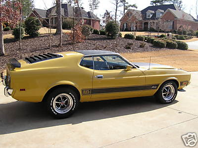 Ford Mustang Mach 1 351