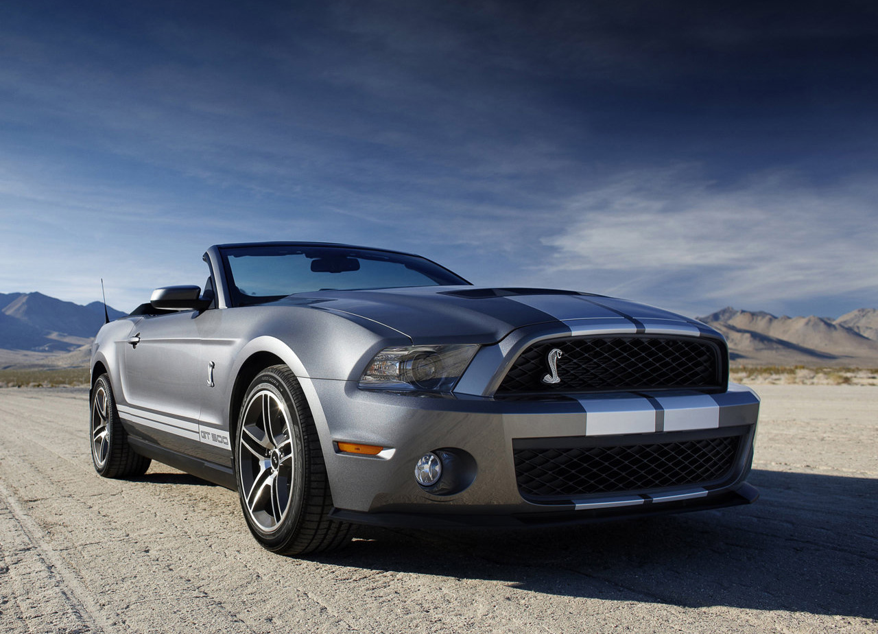 Ford Shelby GT 500 Convertible