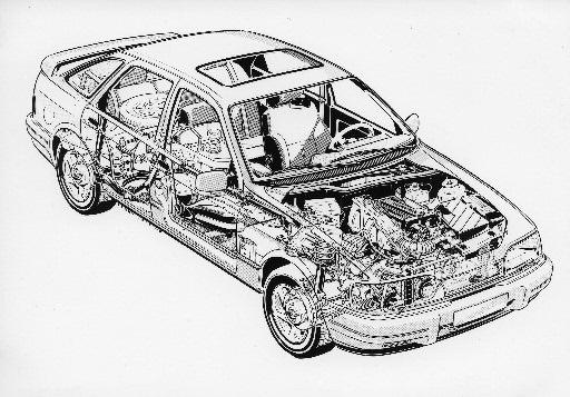 Ford Sierra 2.0 4x4
