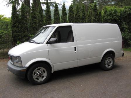 GMC Safari Cargo Van