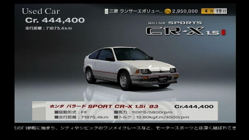 Honda Ballade 1.5