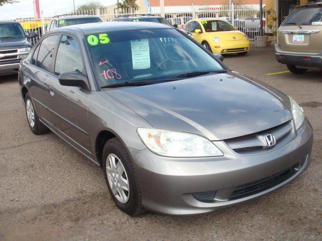 Honda Civic 1.7L I4 EX MT