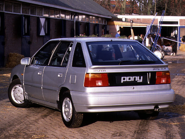 Hyundai Pony 1.5 GLS