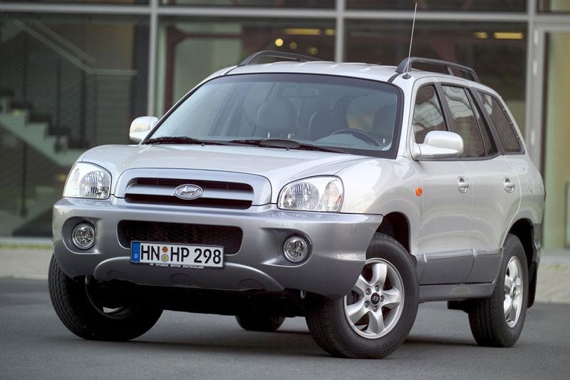 Hyundai Santa Fe 2.4 i 16V