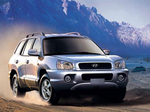 Hyundai Santa Fe 2.4 i 16V 4WD AT
